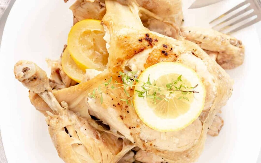 Pressure Cooker Whole Chicken (In The Instant Pot)
